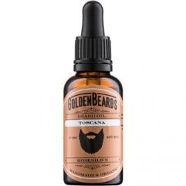 Golden Beards Toscana olej na vousy  30 ml