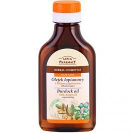 Green Pharmacy Hair Care Argan Oil lopuchový olej na vlasy s regeneračním účinkem  100 ml
