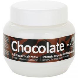 Kallos Chocolate regenerační maska pro suché a poškozené vlasy  275 ml