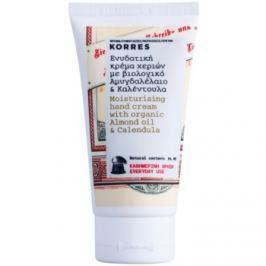Korres Body Almond Oil & Calendula hydratační krém na ruce pro každodenní použití  75 ml