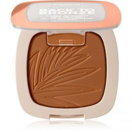 L'Oréal Paris Wake Up & Glow Back to Bronze bronzer odstín 02 Sunkiss 9 g