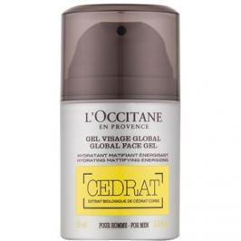 L'Occitane Cedrat matující gel s hydratačním účinkem  50 ml