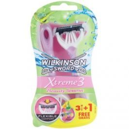 Wilkinson Sword Xtreme 3 Beauty Sensitive jednorázová holítka  4 ks