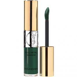 Yves Saint Laurent Full Metal Shadow The Mats tekuté oční stíny odstín 14 Fur Green 4,5 ml