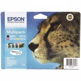 Epson T0715, 3x 6ml, 1x 7ml - originální (C13T07154010)