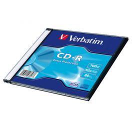 Verbatim CD-R 700MB/80min, 52x, Extra Protection, slim, 200ks (43347)