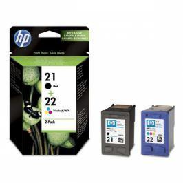 HP No. 21+22, 2 pack, 190/165 stran - originální (SD367AE)