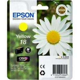 Epson T1804, 180 stran - originální (C13T18044010) Inkousty a refillkity