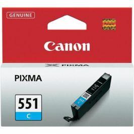 Canon CLI-551 C, 304 stran - originální (6509B001) Inkousty a refillkity