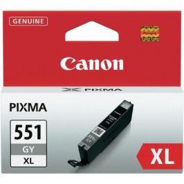Canon CLI-551XL GY, 3350 stran - originální (6447B001) Inkousty a refillkity