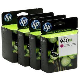 HP No. 940XL, 38ml - originální (C2N93AE) Inkousty a refillkity