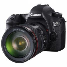 Canon 6D + EF 24-105 (8035B034AA) Poloprofesionální zrcadlovky