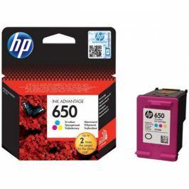 HP No. 650, 200 stran - originální (CZ102AE#BHK) Inkousty a refillkity