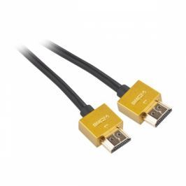 GoGEN HDMI 1.4, 1,5m, pozlacený, High speed, s ethernetem (GOGHDMI150MM03)