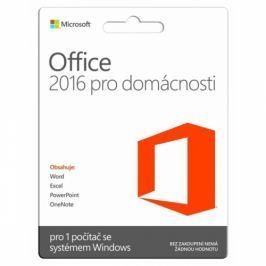 Microsoft CZ pro domácnosti a studenty pro 1 PC (79G-04339)
