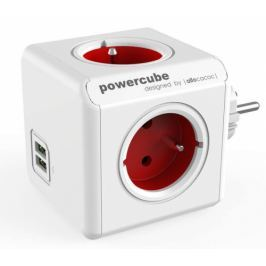Powercube Original USB,  4x zásuvka, 2x USB