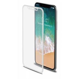 Celly 3D pro Apple iPhone X - bílé (3DGLASS900WH) Ochranné fólie a skla pro mobilní telefony