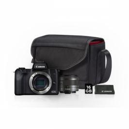 Canon M50 + EF-M15-45 + SB130 + 16GB karta (2680C064)