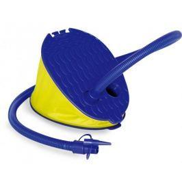 Nožní pumpa (modrá,žlutá)