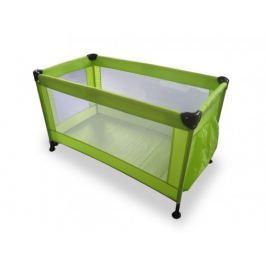 Calme - Cestovní postýlka, 120x60x73 cm, skládací (zelená)