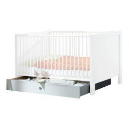 Filou - Úložný prostor pod dětskou postýlku (alpská bílá)