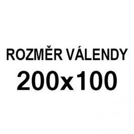 Athos - roh pravý, 200x100 (paris 25, korpus, bok/paris 16, lem)