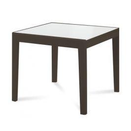 Asso 90 - Jídelní stůl (extra bílá, wenge)
