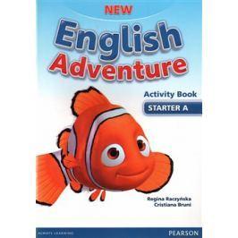 New English Adventure Starter A Activity Book and Song CD Pack - Regina Raczyńska, Cristiana Bruni