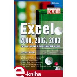 Excel 2000, 2002, 2003 - Jaroslav Černý