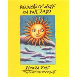 Básničkový diář na rok 2010 - Honza Volf