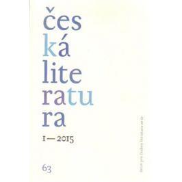 Česká literatura 1/2015