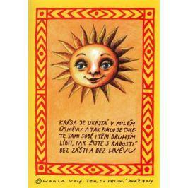 Sada sluníčkových pohlednic - Honza Volf