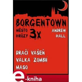 3x Borgentown - město hrůzy II - Andrew Hall E-book elektronické knihy