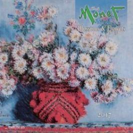 Nástěnný kalendář - Claude Monet 2017