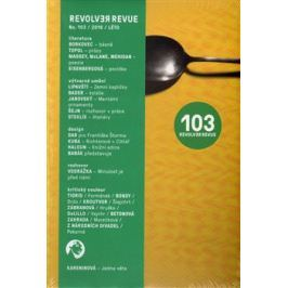 Revolver Revue 103 Literatura a kultura