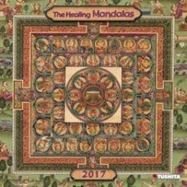Nástěnný kalendář- The Healing Mandalas 2017 Kalendáře
