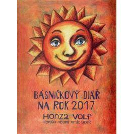 Básničkový diář na rok 2017 - Honza Volf
