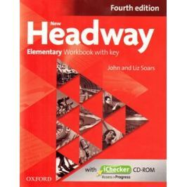 New Headway Fourth Edition Elementary Workbook with Key and iChecker CD-ROM - John Soars, Liz Soars