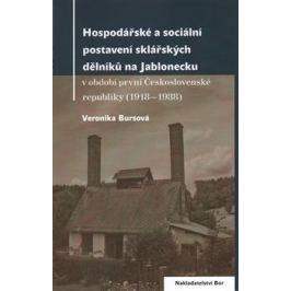 Hospodářské a sociální postavení sklářských dělníků na Jablonecku - Veronika Bursová