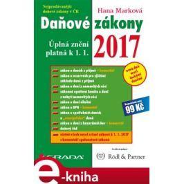 Daňové zákony 2017 - Hana Marková
