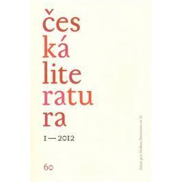 Česká literatura 1/2012