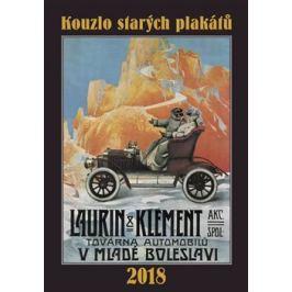 Kalendář - Kouzlo starých plakátů 2018