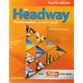 New Headway Fourth Edition Pre-intermediate Student´s Book with iTutor DVD-ROM - John Soars, Liz Soars