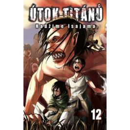 Útok titánů 12 - Hadžime Isajama