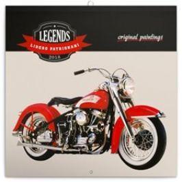 Poznámkový kalendář Legends – Libero Patrignani 2018