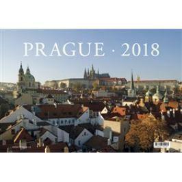 Kalendář 2018 Prague stolní