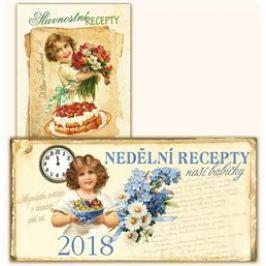 Stolní kalendář nedělní menu 2018 + Slavnostní recepty - Klára Trnková