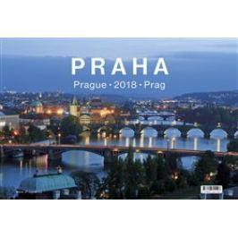 Kalendář 2018 Praha stolní