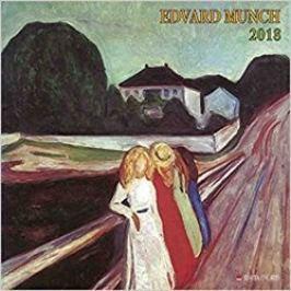 Nástěnný kalendář - Edvard Munch 2018