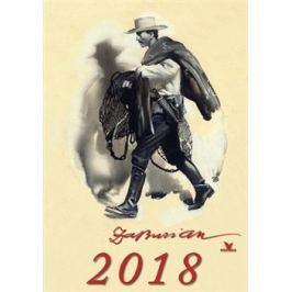 Nástěnný kalendář Zdeněk Burian 2018 - Zdeněk Burian